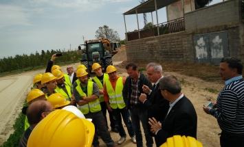 La Federació Catalana de la Pedra presenta al Director General de Centres Publics les necessitats formatives del sector de la pedra natural