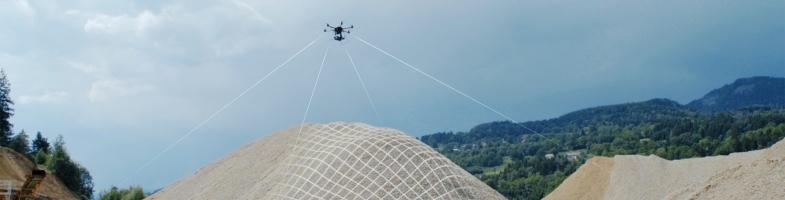 drone scan cantera